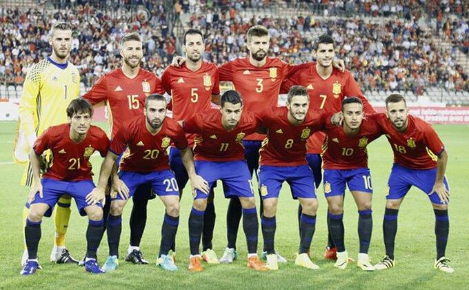 """Španci lako protiv Belgije, Venturini """"Azuri"""" pali protiv vicešampiona Evrope"""