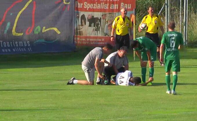 Pogledajte kako se povredio Fabrisio!