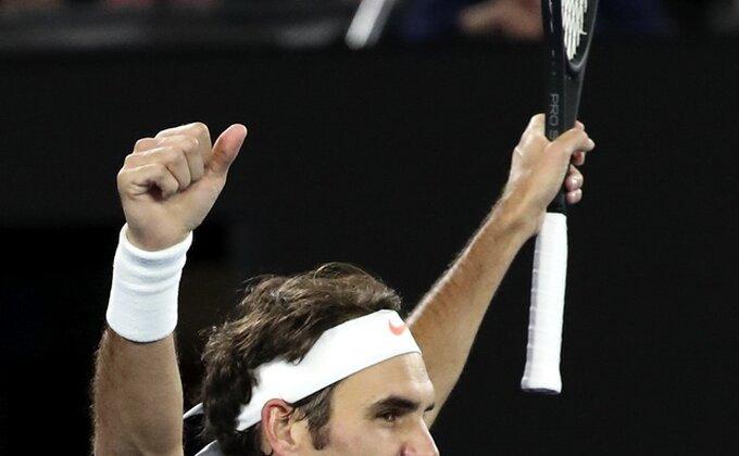 Druga mladost Rodžera Federera! Ekspresno u polufinale!