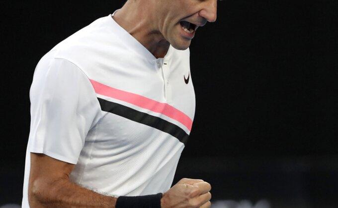 Federer nema milosti, Krajinoviću samo tri gema!