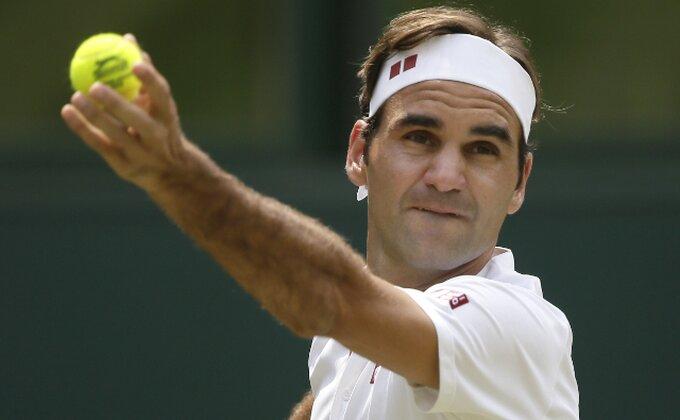 Federerova ''šetnja'' do četvrtfinala Vimbldona