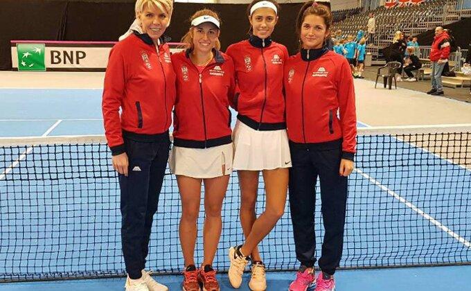 Fed kup - Srpske teniserke bolje od Gruzije