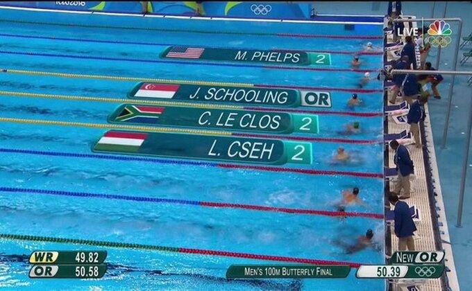 Veliki Majkl Felps sa 28 olimpijskih medalja otišao u penziju, da li je i ova sporna?