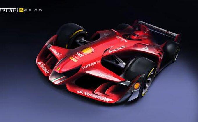 Ferari - Slika novog, agresivnog automobila!