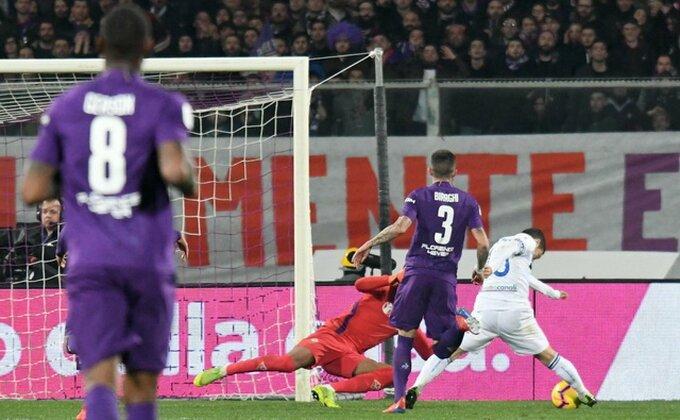 Goleada u Firenci, Atalanta prokockala dva gola prednosti!