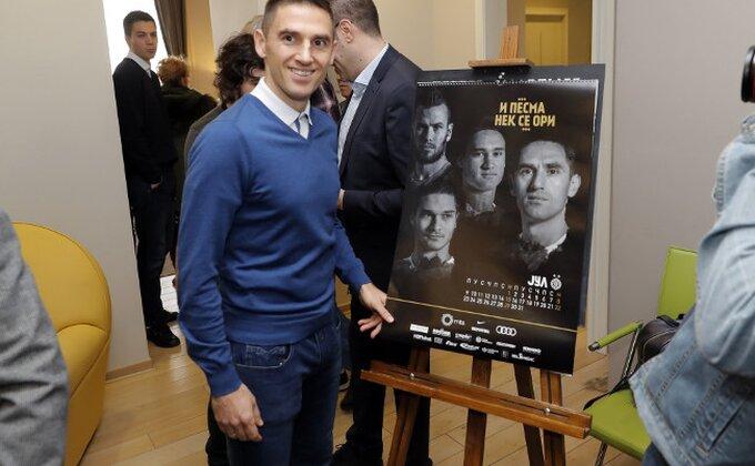 FK Partizan predstavio kalendar za 2018.