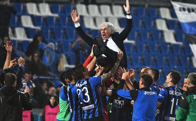 Zbog ovoga se igra fudbal, pogledajte doček Atalante!