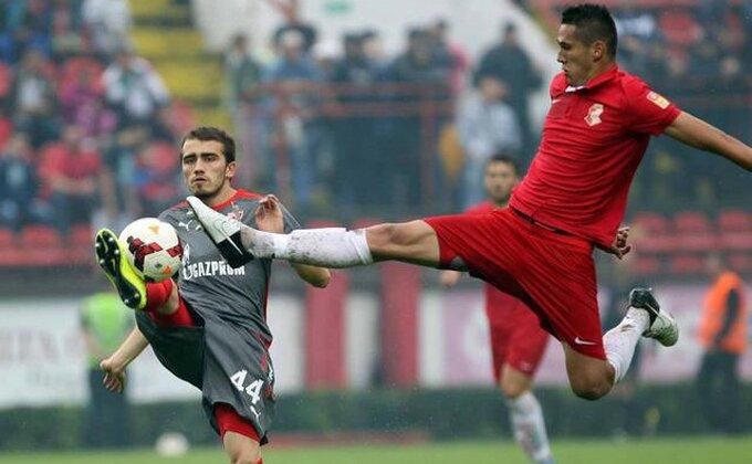 Gavrić 'ispio' Rubin, Luković se povredio!