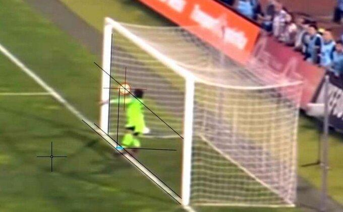 Partizanov pobedonosni gol - Da li je prešla liniju?