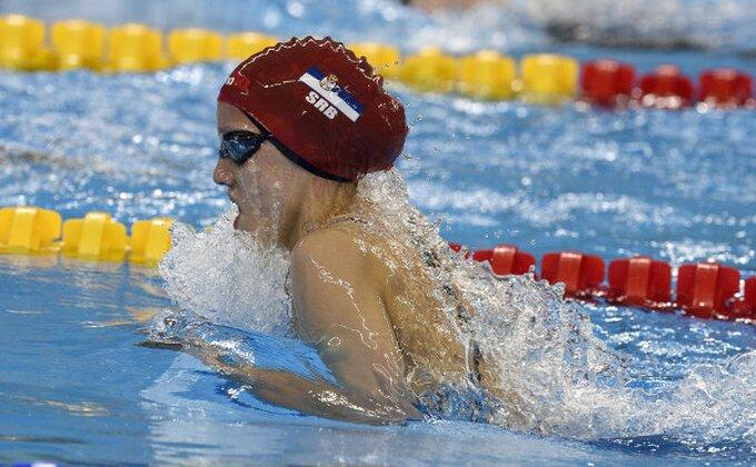 EP - Anja Crevar bez finala na 200 metara delfin stilom