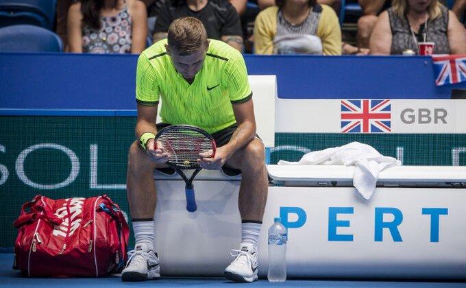 Britanski teniser pozitivan na kokain