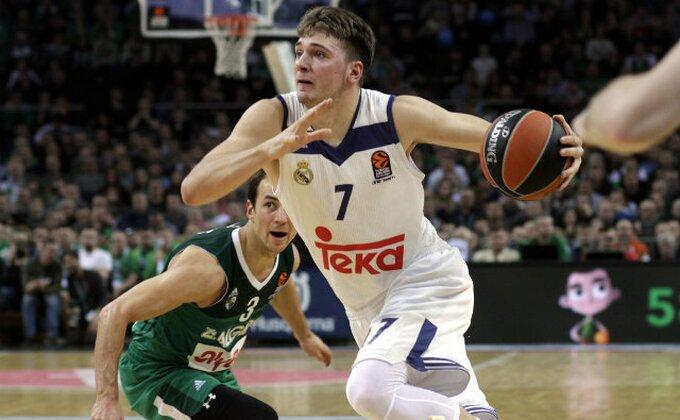 EL - Dončić se igrao, CSKA teško bez Teodosića!