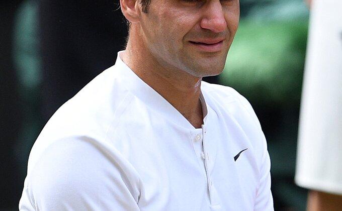 Plakao kao kiša, Federer nikad srećniji!