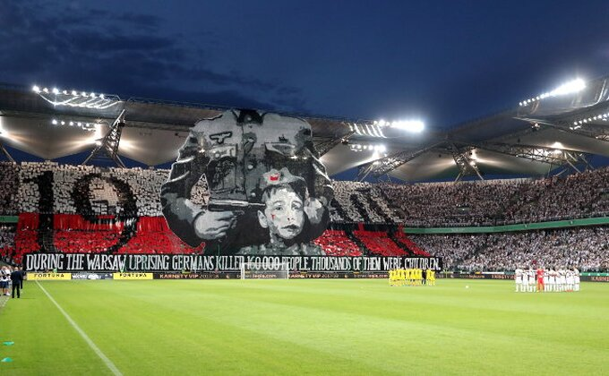 Legija ispala, a kako će UEFA reagovati na ovakvo ponašanje njenih navijača?