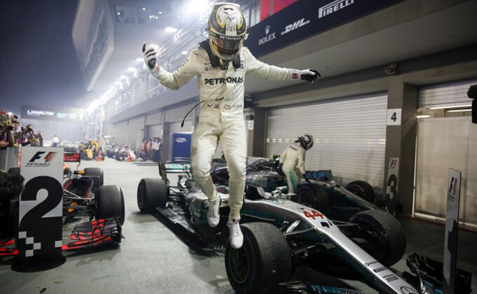 Hamilton sve bliži četvrtoj tituli
