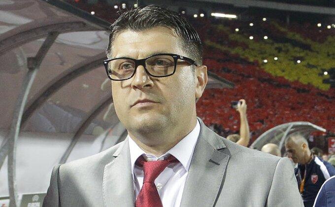 """Milojević: """"Svaki poraz boli, crveni je odlučio"""""""