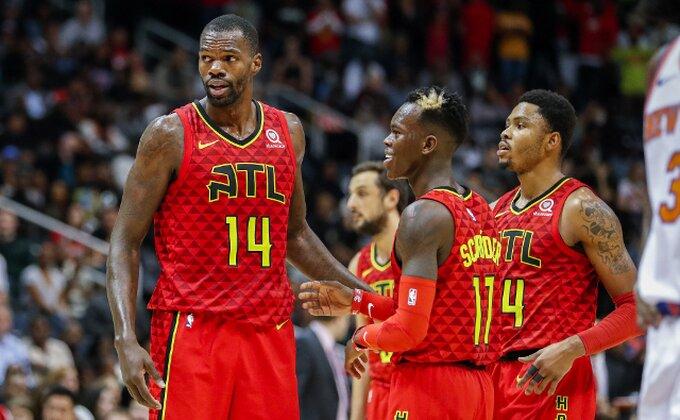 Veče potcenjenih u NBA ligi, Atlanta slavila na gostovanju