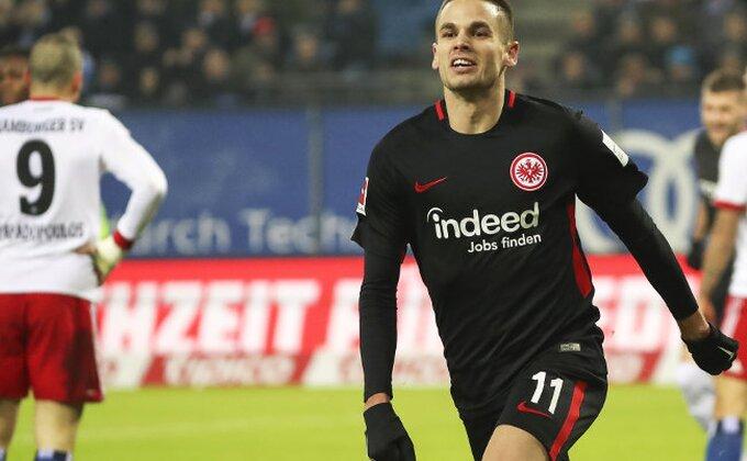 DFB Pokal: Frankfurt velikom zaslugom Gaćinovića poslednji overio vizu za četvrtfinale!