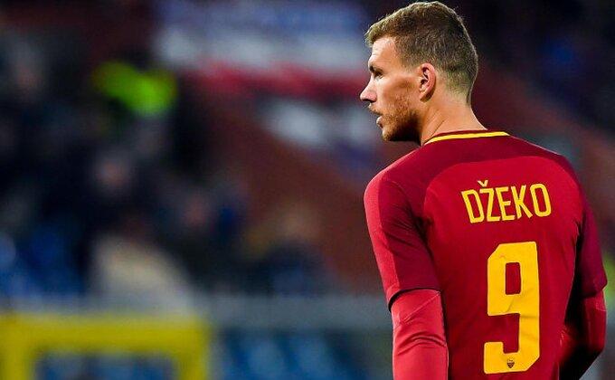 Nastavlja se goleada, Džeko vratio nadu Romi!