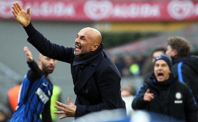 Još jedan Interov promašaj, Spaleti otpisao Italijana
