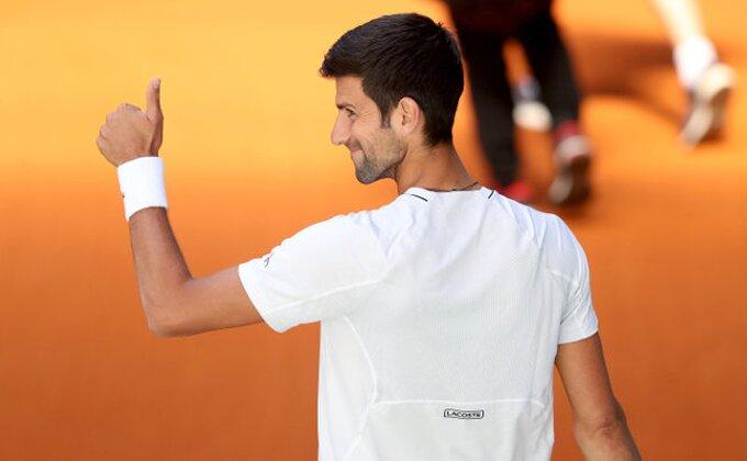 Novak drugi favorit za titulu u Madridu