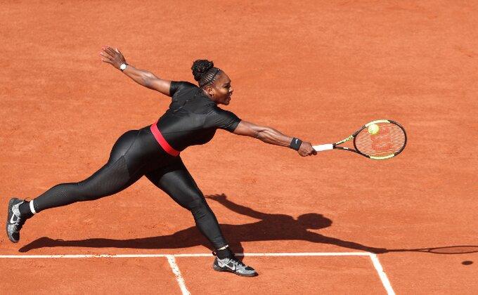 Serena Vilijams u drugom kolu Rolan Garosa, ali njen kostim je u centru pažnje