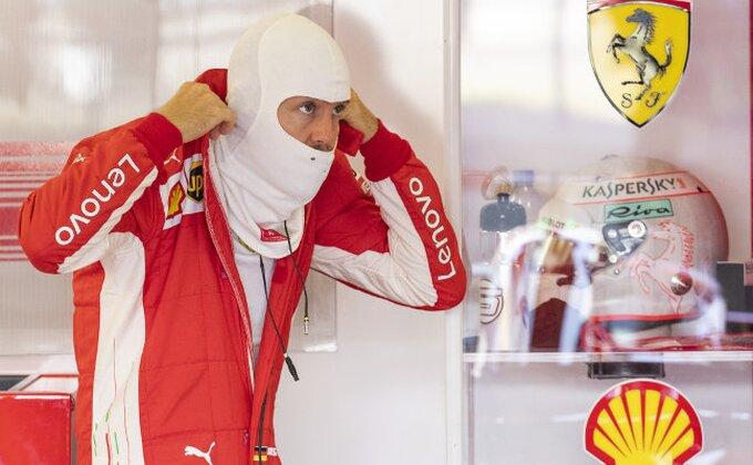 Fetel najbrži na drugom treningu uoči Velike nagrade Italije