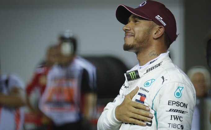 Hamiltonu pol pozicija u Brazilu