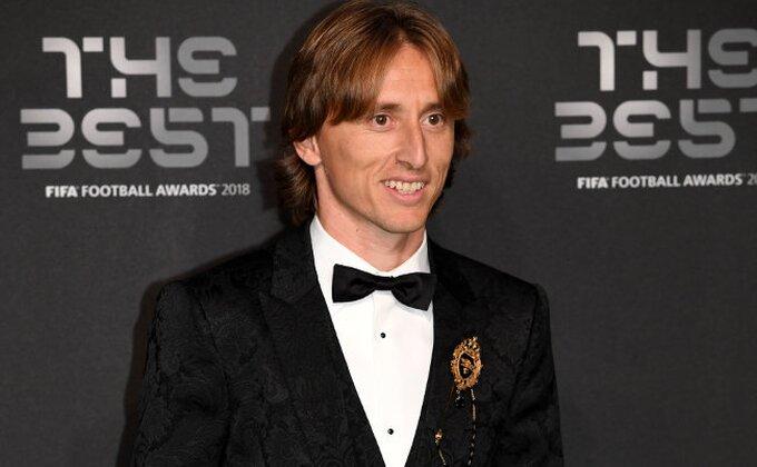 Modrić ima svog favorita za Zlatnu loptu, veliki kompliment za fudbalera rivalskog kluba!