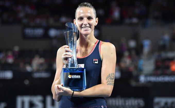 Pliškovoj trofej u Brizbejnu, Gerges osvojila Oklend
