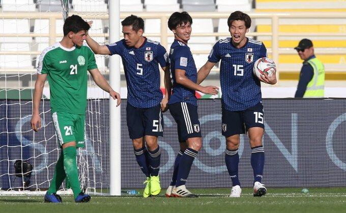 Azijski kup - Japan u čevrtfinalu