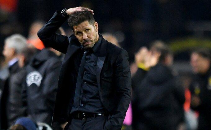 Novi udar za Simeonea, Atletiko u problemu pred meč sezone!