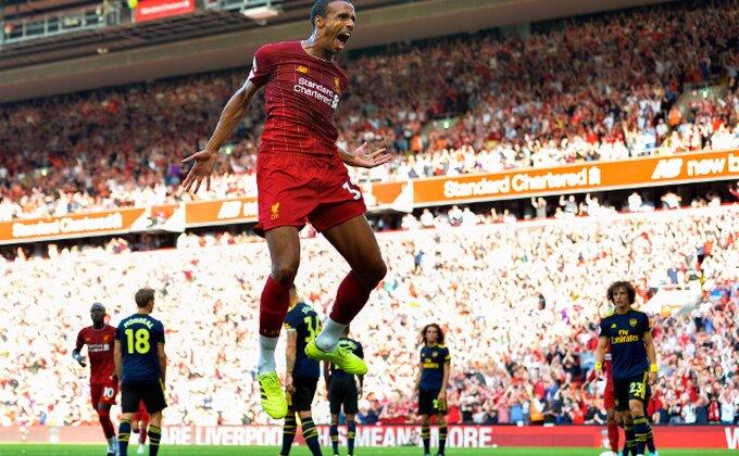 Arsenal nestao u drugom poluvremenu, Liverpul usamljen na čelu!