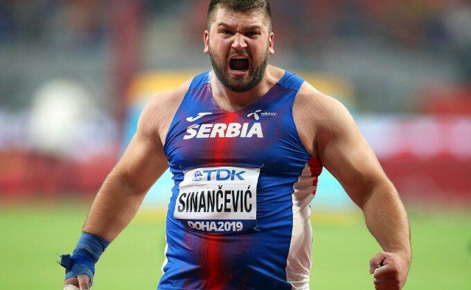 Armin Sinančević u finalu EP u dvorani