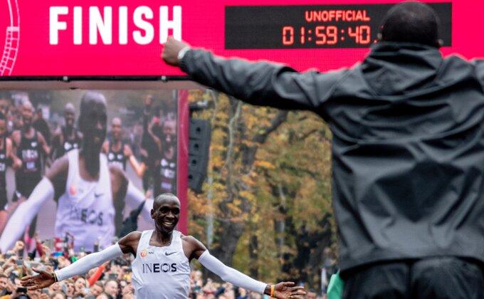 Istrčao maraton za manje od dva sata, ali mu ne priznaju rekord!
