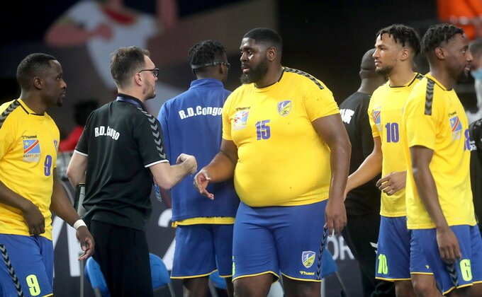 NAJDEBLJI rukometaš na Svetskom prvenstvu! Zbog njega Kongo ima sve više navijača širom sveta!
