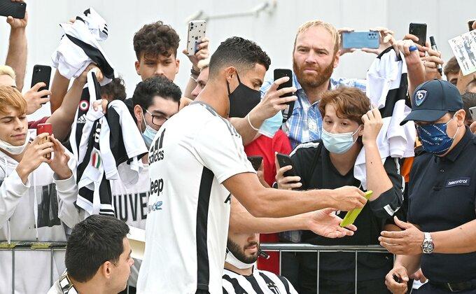 Juve kreće, svi se pitaju gde je Ronaldo?!