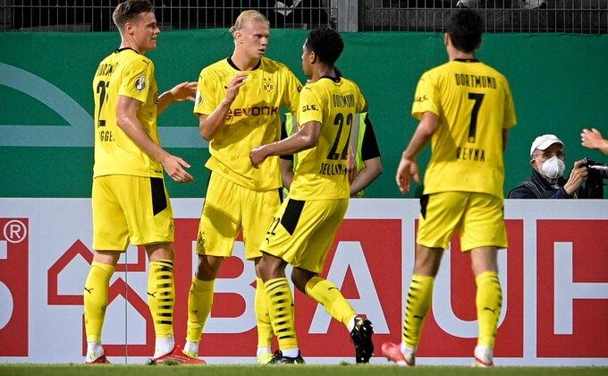 Nemačka, Kup - Nova sezona, stari Haland! Prvo, pa het-trik!