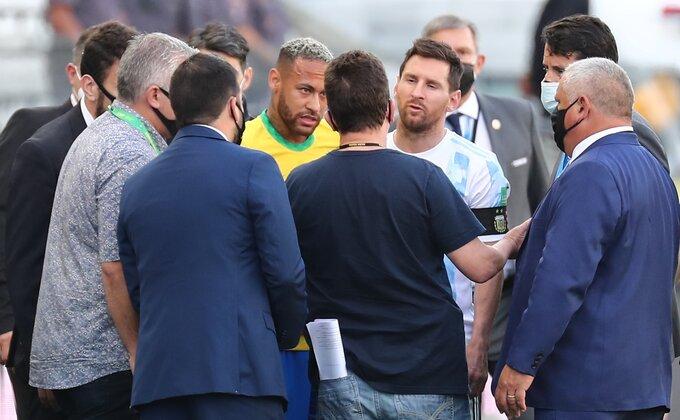 """Hoće li Brazil i Argentina odigrati """"neprihvatljivo"""" prekinut meč?"""