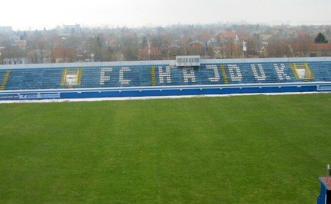 """""""Tepih"""" na stadionu Hajduka"""