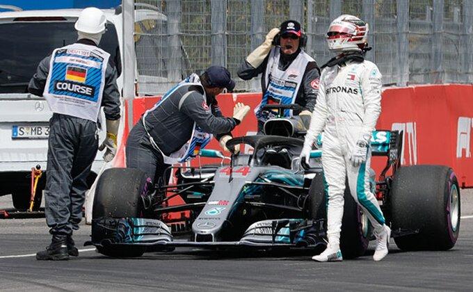 Hamiltonu pol pozicija na ''Hungaroringu'', Fetel podbacio