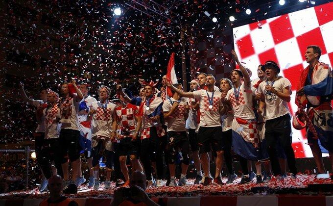 Hrvati slavlje preselili u Split