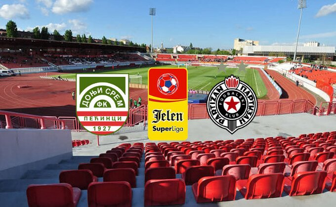 JSL: Donji Srem - Partizan 1-2 (KRAJ)