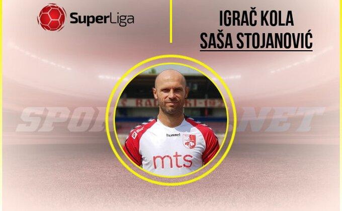 SL - Caki Stojanović obeležio 10. kolo