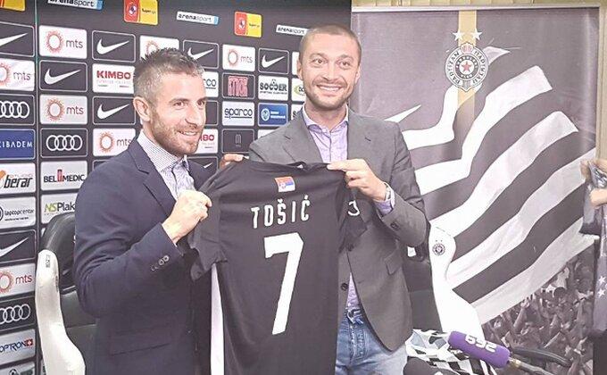 Partizan se muči, ali Bambi Tošić već dobija komplimente