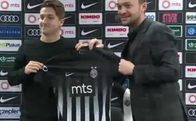 Vakulko oduševljen Partizanom!