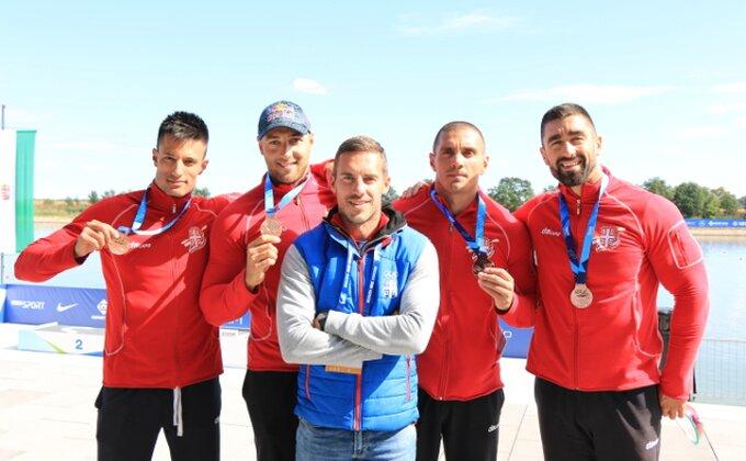 Svetski kup - Kajakaški četverac stigao do bronze