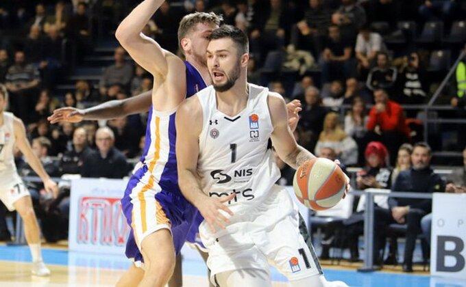 Nikola Janković se oglasio posle debija za Partizan, zašto je igrao samo tri minuta?