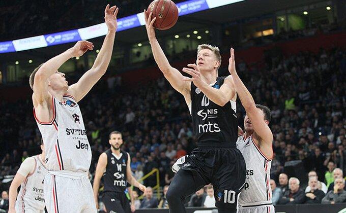 Partizan u najgorem slučaju ide kao drugi u Top 16, protivnici sve izvesniji