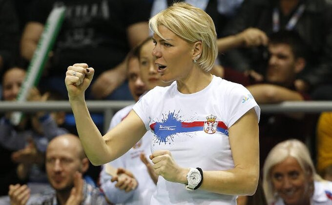 Srpske teniserke razočarane, selektorka ih hvali